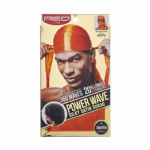 Power Wave 360 Silky Satin Durag Orange